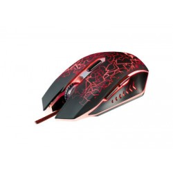 TRUST GXT 105 - Gaming Mouse - Μαύρο/Κόκκινο